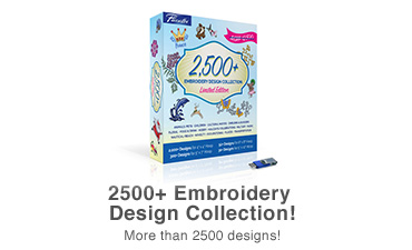 SAEMB2500 2500 Embroidery Designs