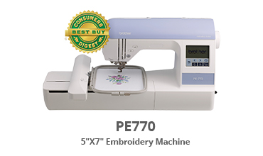 "PE770 5"" x 7"" Embroidery Machine"