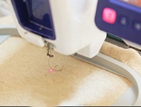 Droplight™ Embroidery Positioning Marker