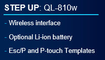 STEP UP: QL810W