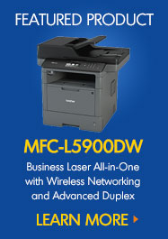 MFCL5900DW Business Laser All-in-One with Wireless Networking and Advanced Duplex
