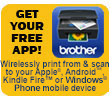 iPrint&Scan AIO icon for Apple, Android, Kindle Fire and Windows Phone_April 2013