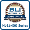 2016 Buyers Lab Pick Award HL-L6400 series
