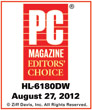 PC Mag. Editors' Choice HL-6180DW
