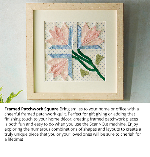 Framed Patchwork Square