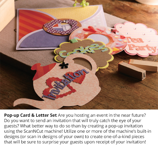 Pop-up Card & Letters