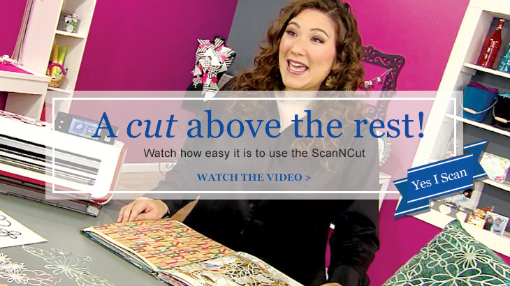 A Cut Above the Rest - Julie Fei-Fan Balzer demonstrates ScanNCut