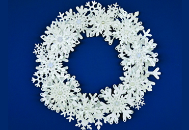 November 2014 ScanNCut Project of the Month - Snowflake Wreath