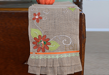 Fall Table Runner POM