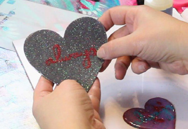 Heart Magnet Project of the Month
