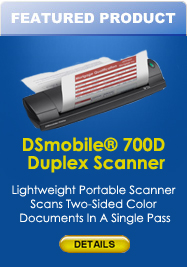 DSmobile® 700D Duplex Scanner