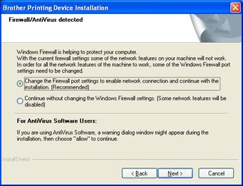 Configure and install the software using the CD - USB - Windows