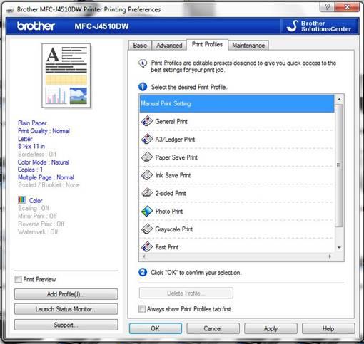 Adjust The Default Preferences Of Your Printer Driver