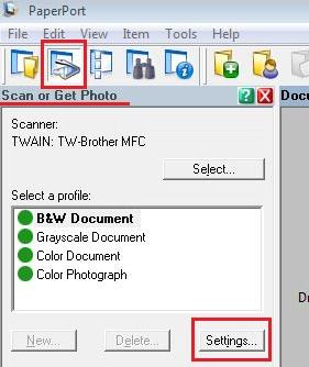 Improve skewed scans - Auto-straighten with PaperPort 11 SE