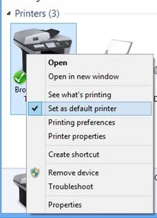 5 Double Click On The Brother Printer Driver Printers Status Window Will Appear
