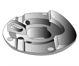 For machining industries in Automotive parts