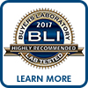 BLI Highly Recommended 2017 Learn More