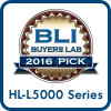 2016 Buyers Lab Pick Award HL-L5000 series
