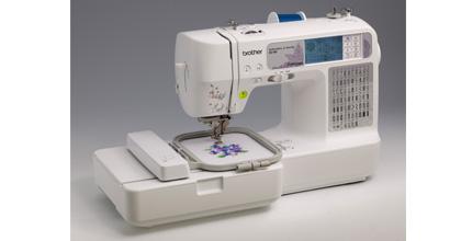 Máquina coser y bordar computarizada y portátil con 70 diseños de bordado y  67 puntadas incorporadas 958f726155c