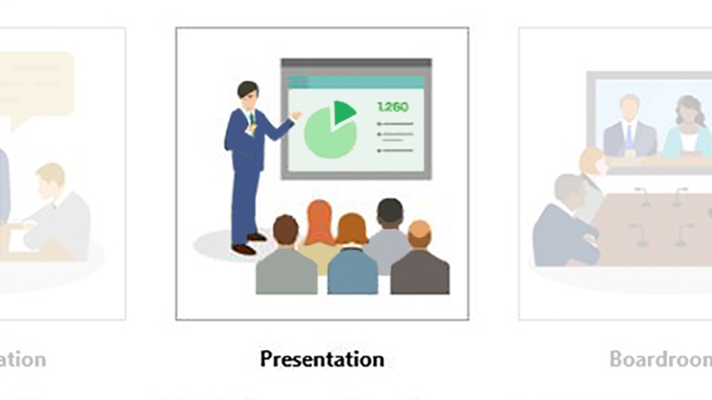 what is presentation mode