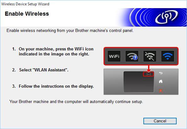 Wireless Setup - Using the Wireless Setup Installer for Windows
