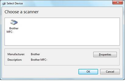 Scan with Windows Fax and Scan - Windows 7