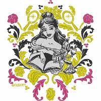 Belle The Booklover Brocade