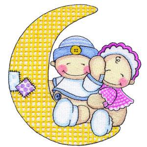 Babies on Moon