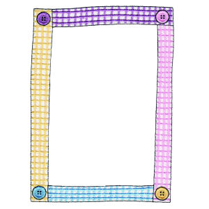 Buttoned-Up Frame