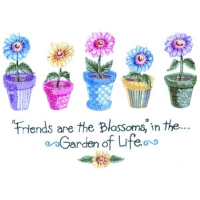 Five Flowers - Friends are the Blossoms
