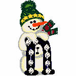 """Snowman with """"N"""""""