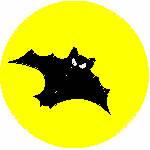 Bat & Yellow Moon