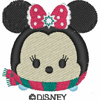 Minnie Christmas Tsum Tsum