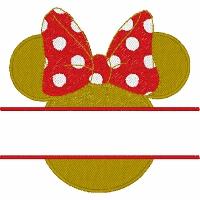 Minnie Ears Split Design