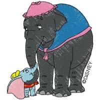 Dumbo and Mrs Jumbo