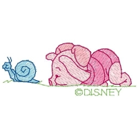 Baby Piglet & Snail
