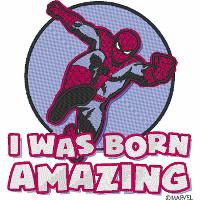 I was born amazing Spider-Man
