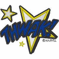 Thwak!