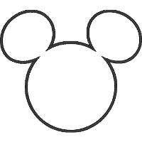 Mickey Mouse Monogram Frame
