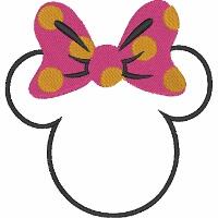 Minnie Mouse Monogram Frame