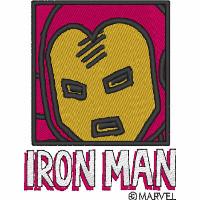 Iron Man Comic Style