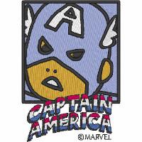 Captain America Comic Style