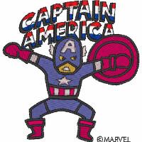 Captain America Jumps