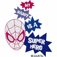 My Daddy Super Hero