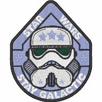 Stay Galactic Stormtrooper