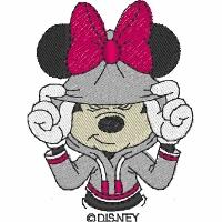 Minnie in a Hoodie