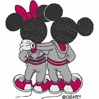 Mickey & Minnie Sporty Love