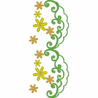Flower Border Repeat 8