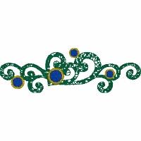 Heart Scroll Embellishment 2