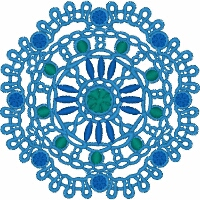 Mandala Embellishment